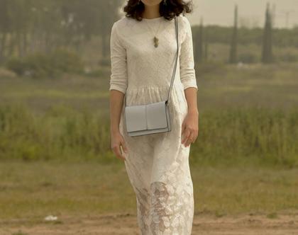 שמלה לשבועות | שמלה לבנה | שמלה לחג