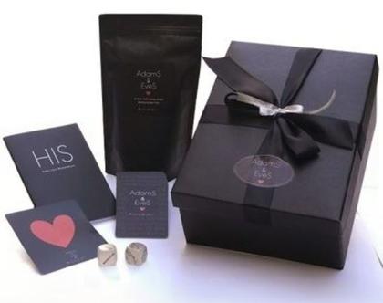 משחק קלפי זוגיות - Adams & Eves - Sexy Love Box - His