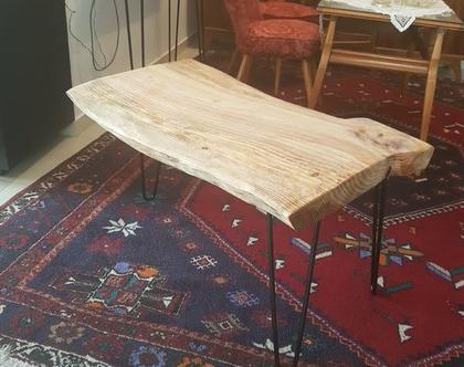שולחן קפה מעץ טבעי