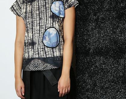Sphere top חולצת כותנה