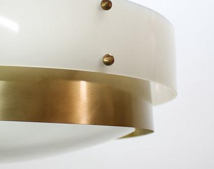 מנורת ספייס אייג׳ גדולה עם טבעת פליז