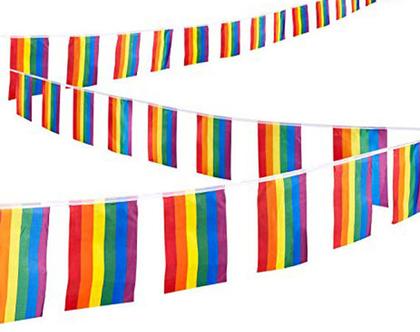 שרשרת דגלי גאווה 5 מטר !!!