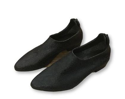 נעלי עור מעוצבות, נעלי עור שחורות מיוחדות,