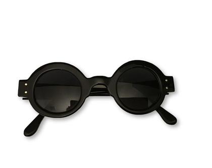 משקפי שמש עגולים, משקפי שמש מעוצבים, משקפי שמש שחורים