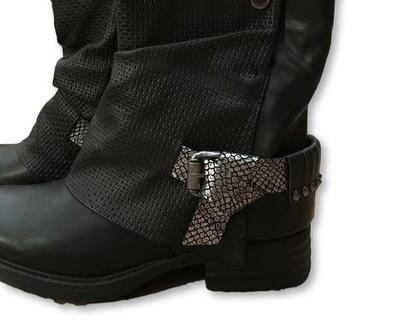 מגפיים שחורים מיוחדים, מגפונים שחורים מעוצבים