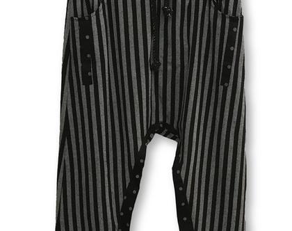 מכנסי שרוואל מיוחדים, מכנסי שרוואל פסים
