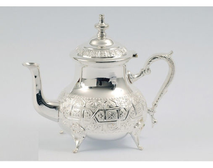 קומקום מרוקאי מכסף | בראד לתה |