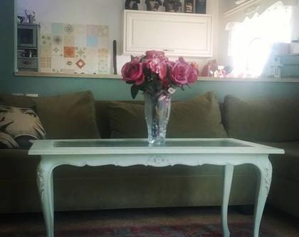 שולחן סלון פרובנס