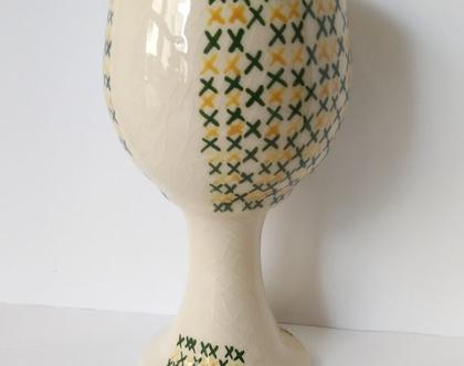 גביע קידוש מהודר | גביע יין | גביע יוקרתי | גביע לקידוש בעבודת יד | גביע יין מעוצב