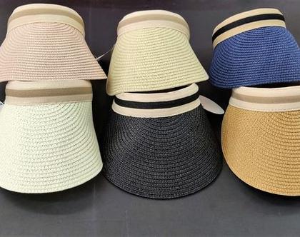 קסקט רקמה | מצחיה רקמה | כובעים לקיץ
