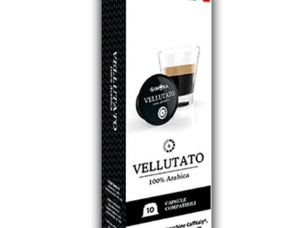 Vellutato-GIMOKA (קפסולה תואמת מכונות Caffitaly)