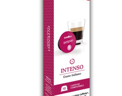 INTENSO-GIMOKA (קפסולה תואמת מכונות caffitaly)