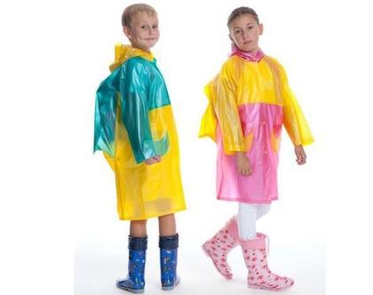 מעיל גשם לילדים דגם מסטיק