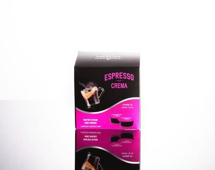 Crema-Espresso mor (קפסולה תואמת מכונות Lavazza Mio Modo)