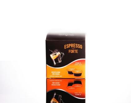 Forte-Espresso mor (קפסולה תואמת מכונות Lavazza Mio Modo)