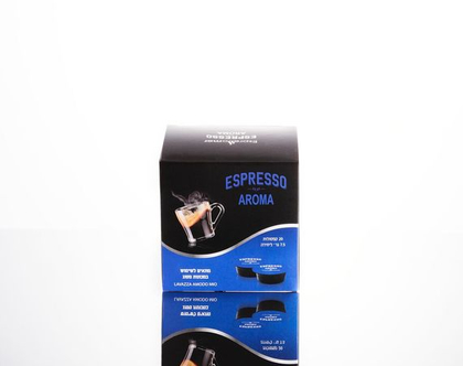 Aroma-Espresso mor (קפסולה תואמת מכונות Lavazza Mio Modo)
