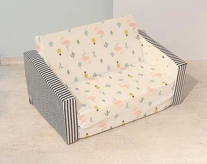 ספה לילדים, ספה נפתחת לילדים, ספונת לילדים, ספה מעוצבת לילדים, ספה לתינוקות,ספה מעוצבת ציקיטס, ספה ציקיטס, ספונת לילדים, ספות לילדים