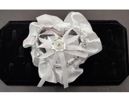 כרית קופסא לטבעות | כרית למתחתנים דגם מיני