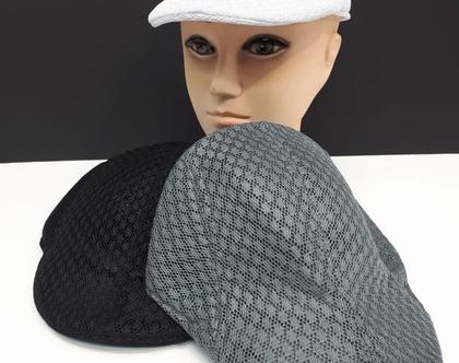 כובע ברט רשת לגבר | כובע דרייפיט לגבר | כובע לקיץ
