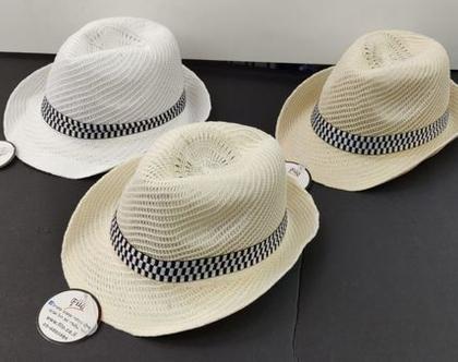 כובע ג'נטלמן | כובע לגבר| כובע לקיץ