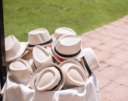 כובע אלגנט | כובע לאירועים | כובע לקיץ | כובע יוניסקס
