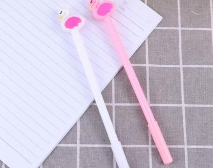 2 יחידות - עטים מעוצבים ו עט צבעוני ו מעטים מיוחדים ו עטים מקושטים ו אביזרי כתיבה ו כלי כתיבה מיוחדים ו עט דגם פלמינגו