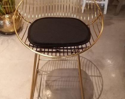 כיסא בר זהב