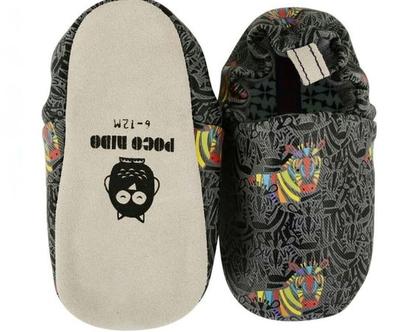 נעלי טרום הליכה | נעליים רכות לתינוק | מיני שוז | זברה