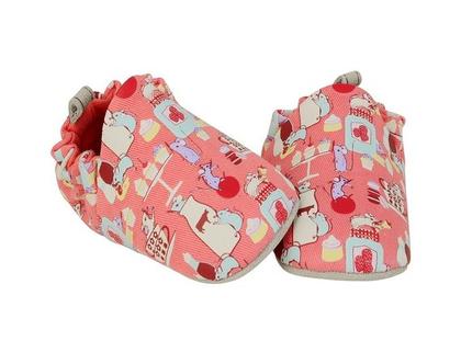 נעלי טרום הליכה | נעליים רכות לתינוק | מיני שוז | עכברים