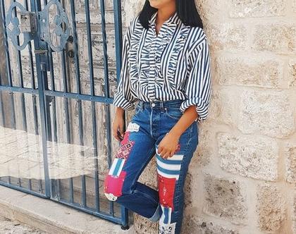 ג'ינס ליוויס, ג'ינס קלאסי, ג'ינס עם טלאים, ג'ינס לנשים, ג'ינס עם פאטצ'ים, ג'ינס כחול, ליוויס וינטג', ג'ינס וינטג', ג'ינס מגניב