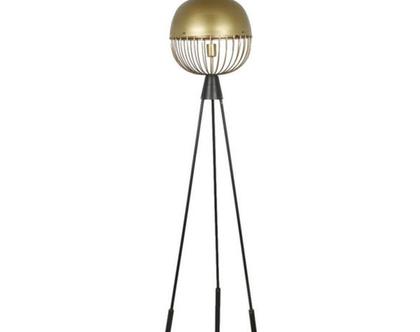 מנורת רצפה דגם אלבה עגול