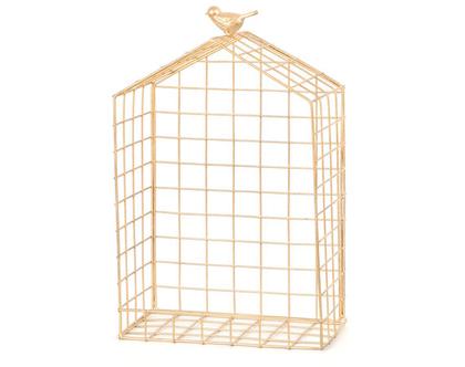 מדף נישה רשת ברזל בית ציפור זהב