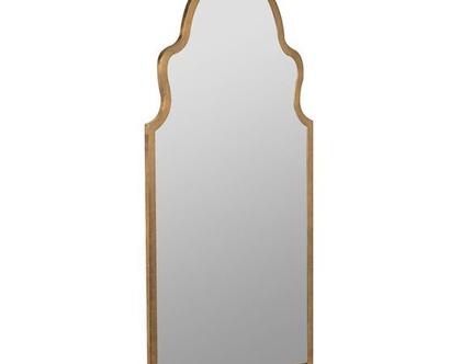 מראה מעוצבת דגם מילנו זהב / שחור - 2