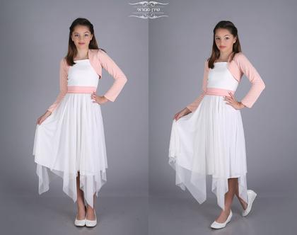 שמלת שירה לבת מצווה של המעצבת שירן סבוראי
