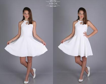 שמלת טיפה לבת מצווה של המעצבת שירן סבוראי