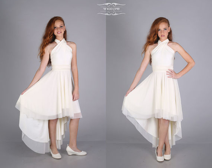 שמלת נועה לבת מצווה של המעצבת שירן סבוראי