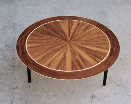 אור - שולחן עגול לסלון