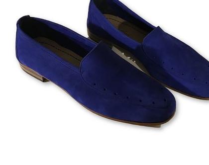 מוקסינים מיוחדים, מוקסינים כחולים מעוצבים
