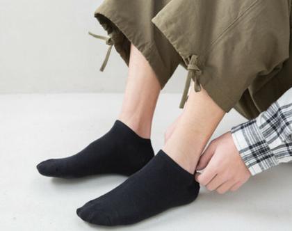 גרביים כותנה עד הקרסול   גרביים לגברים ולנשים
