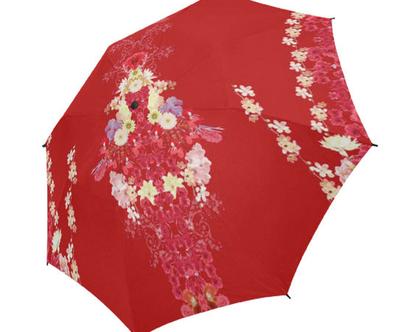 """שמשיה / מטריה- גשם או שמש- כותר 103 ס""""מ- 30ס""""מ סגור"""