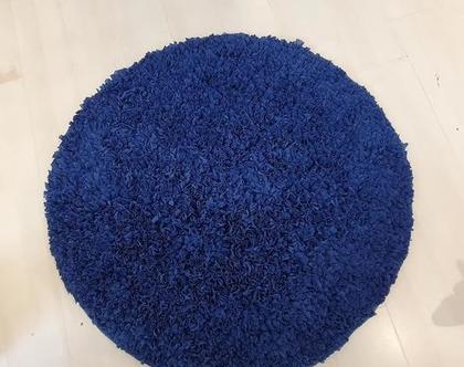 שטיח כחול נייבי לחדר ילדים,שטיח עגול לחדר ילדים,שטיח עגול, שטיח מעוצב לחדר ילדים, שטיחים מעוצבים לחדרי ילדים