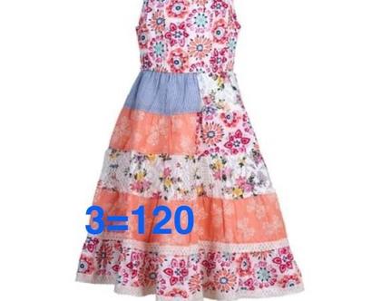 שמלה לילדה   שמלת כתפיות לילדה   שמלה מסתובבת לילדה   שמלת קיץ לילדה   שמלת פרחים לילדה