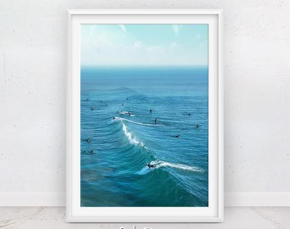 פוסטר גלישה | תמונות גולש גלים | פוסטר לחדר | תמונות חוף | פוסטר לחדר ילדים | עיצוב הבית | קליפורניה | תמונות למסגור | הדפס מודרני | גלשן