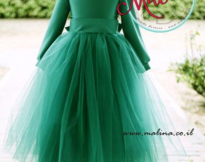 שמלה לאירוע - שמלה ירוקה