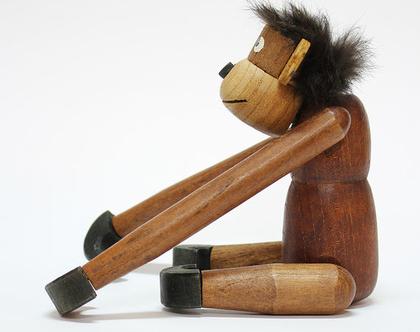 קוף עץ וינטאג׳ יפני
