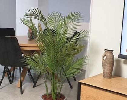 """עץ דקל מלאכותי גובה 150 ס""""מ"""