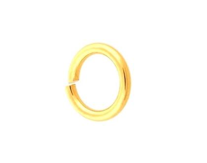 10 לולאות חיבור זהב צהוב 14k קארט לשרשאות וצמידים