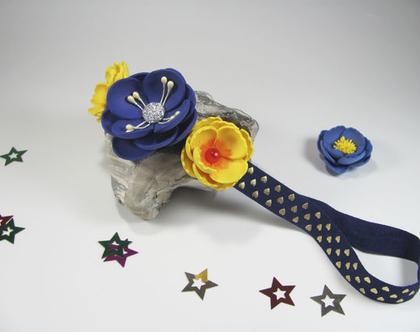 גומית פרחים לראש, גומיה פרחונית לראש, גומיה לראש עם פרחים
