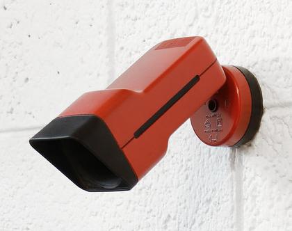 זוג מנורות קיר וינטאג׳ אדומות, מנורת וינטאג׳ אדומה, זוג מנורות לילה אדומות, מנורת כניסה אדומה