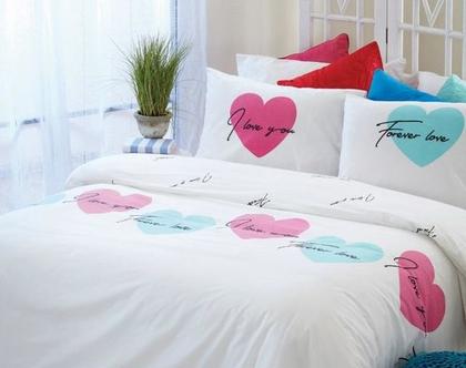 מצעים, סט מצעים, מצעים מכותנה, מצעים ליום האהבה, מצעים למיטת יחיד, מצעים למיטה וחצי, מצעים למיטה זוגית, מצעים מכותנה